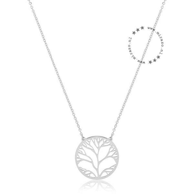 ZAG bijoux ZAG ketting tree of life zilver