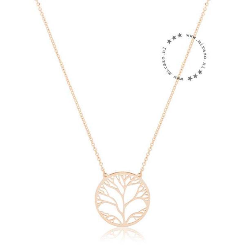 ZAG Bijoux  ZAG ketting tree of life goud