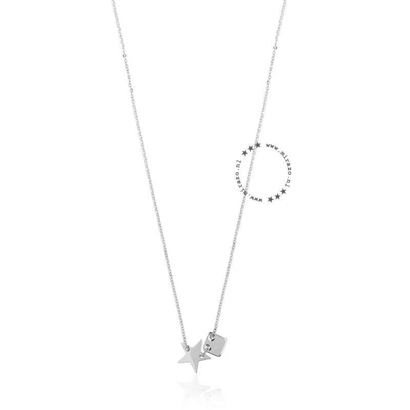 ZAG Bijoux  ZAG ketting star zilver necklace