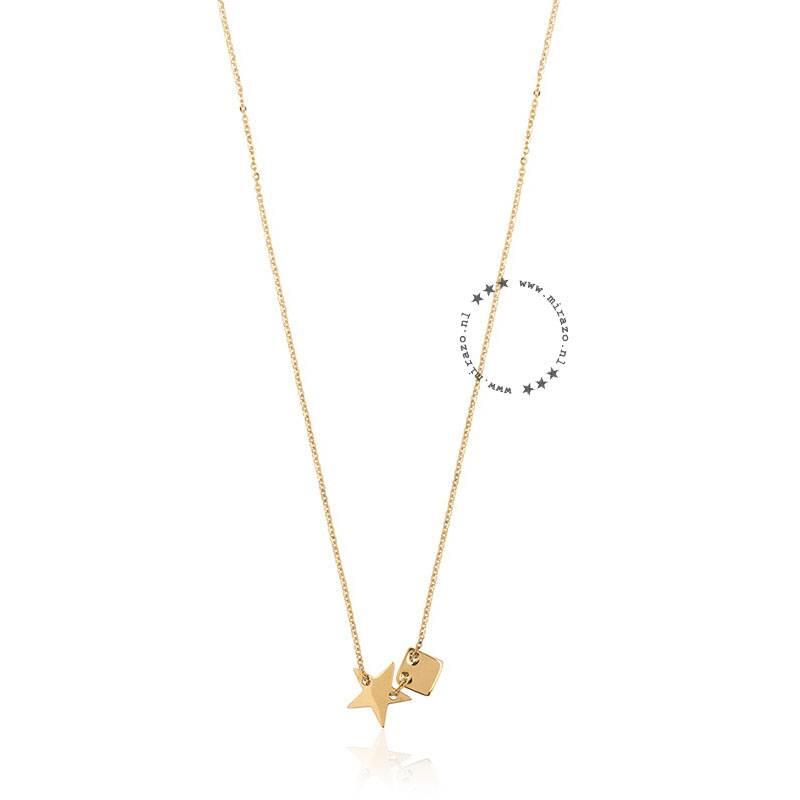 ZAG Bijoux  ZAG ketting star goud necklace