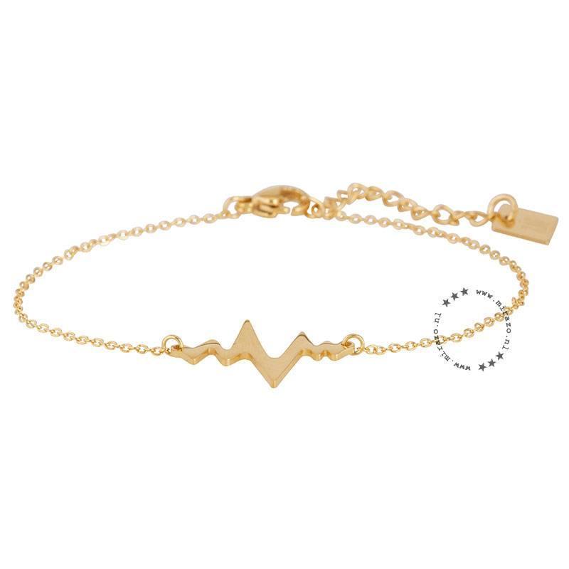 ZAG bijoux ZAG armband heartbeat goud