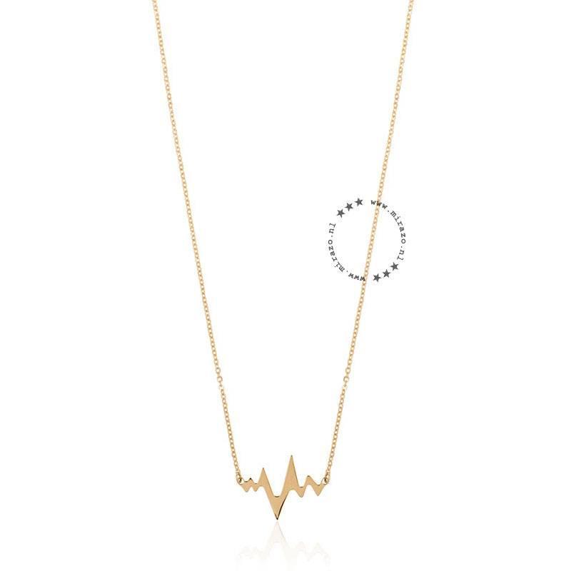 ZAG bijoux ZAG ketting heartbeat goud
