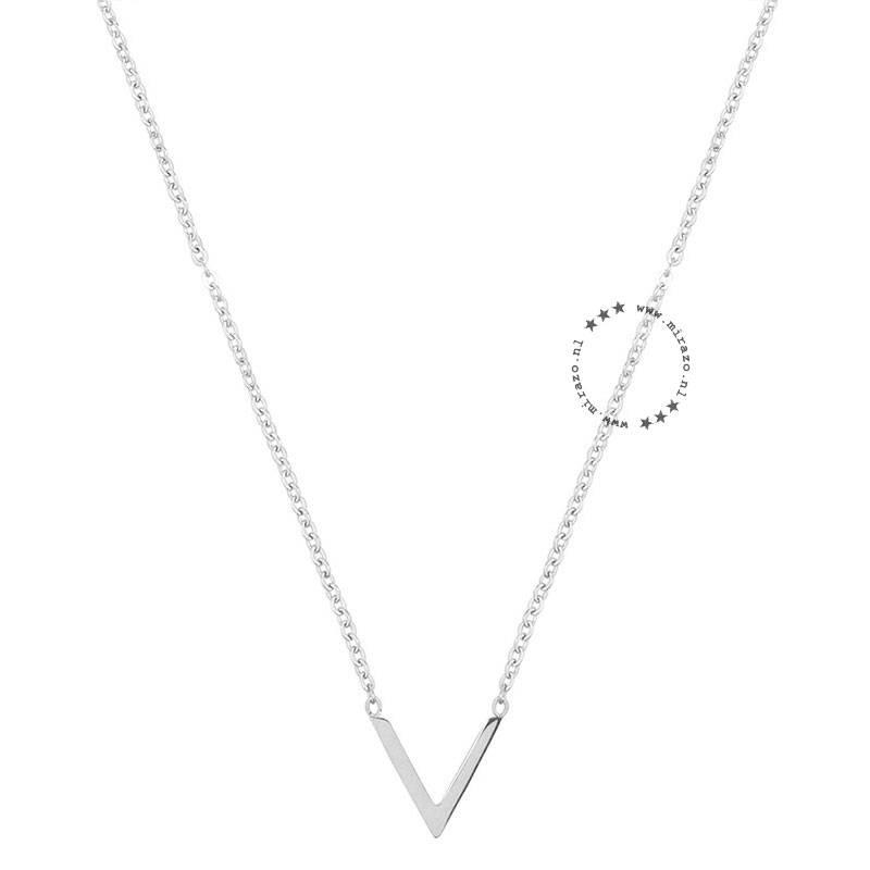 ZAG bijoux ZAG ketting V zilver