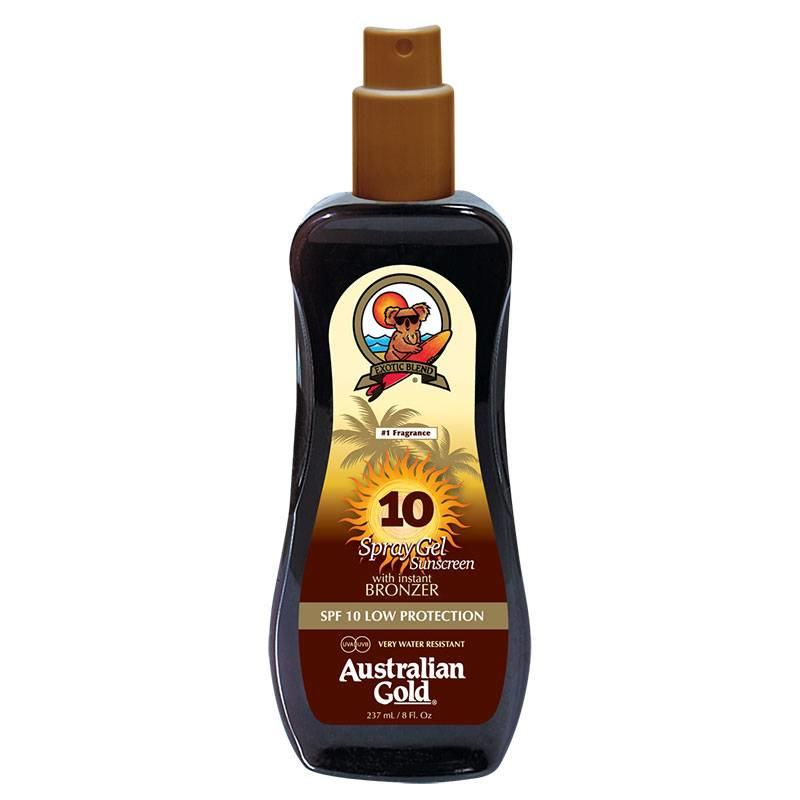 Australian gold Australian Gold SPF 10 spray gel