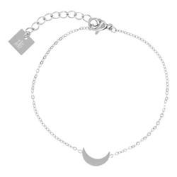 ZAG Bijoux  ZAG armband maan zilver