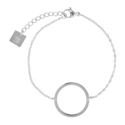 ZAG Bijoux  zag armband zilver circle of live
