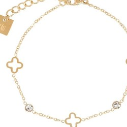 ZAG Bijoux  ZAG armband luck allover sparkle gold