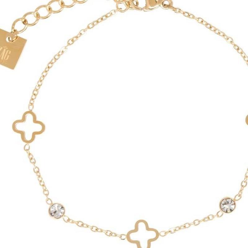 ZAG bijoux ZAG armband luck allover sparkle gold goud