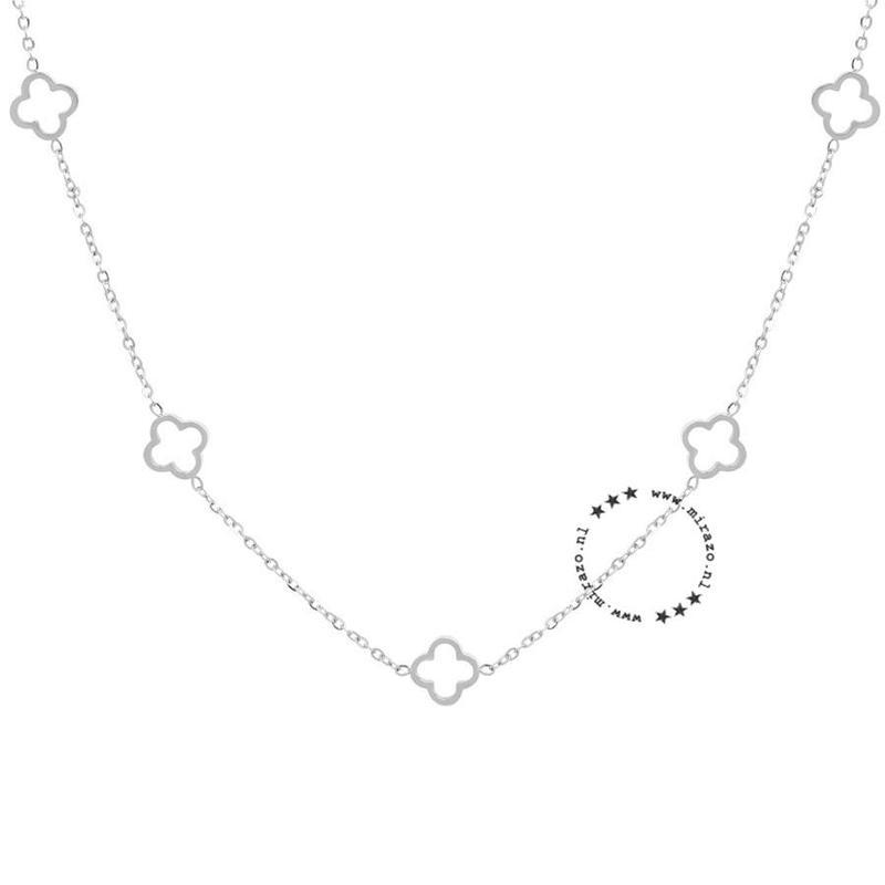 ZAG Bijoux  ZAG ketting  luck allover silver