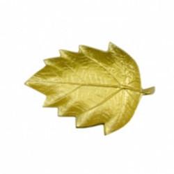 home delight blad schaaltje goud