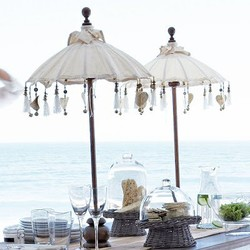 ibiza white parasol tafelmodel