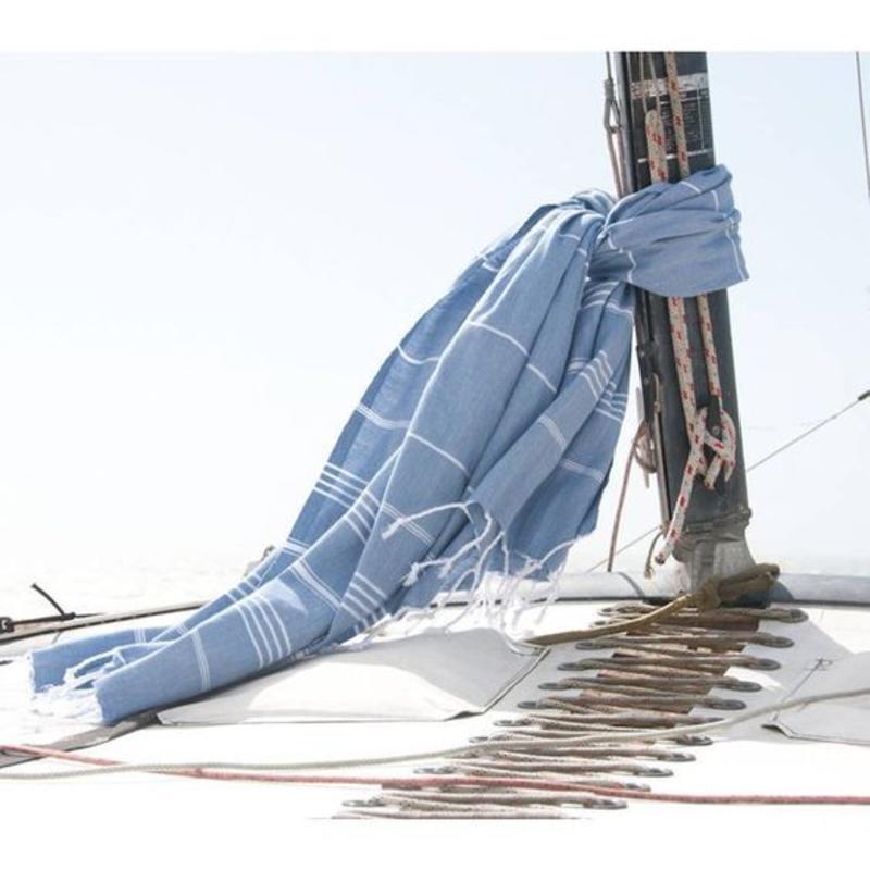hammam handdoek blue