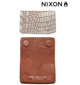 Nixon NIXON  Card Wallet white