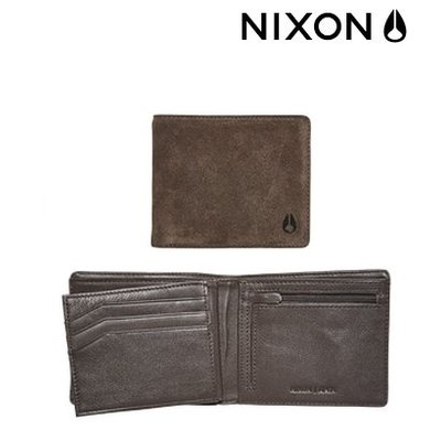 NIXON Apex Big Bill Tri - Fold suede