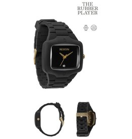 Nixon NIXON The Rubber Player black  gold