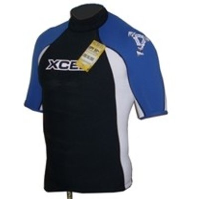 Xcel - Tri colour Rash guard blue