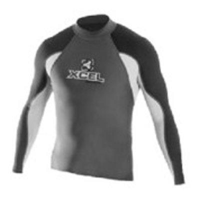 Xcel - Lycra Long Sleeve Tri colour grey