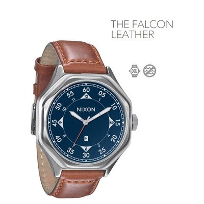 NIXON The Falcon Leather
