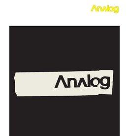 Analog Analog - Creaser Black T- shirt
