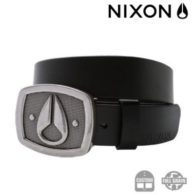 NIXON Monument Belt Black