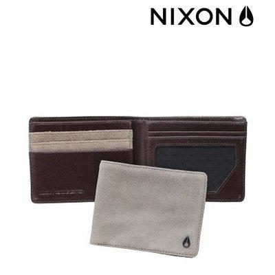 NIXON Sepang Bi-Fold bone suede