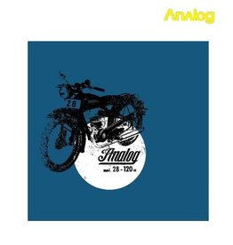 Analog Analog - Moto 28 Royal T- shirt