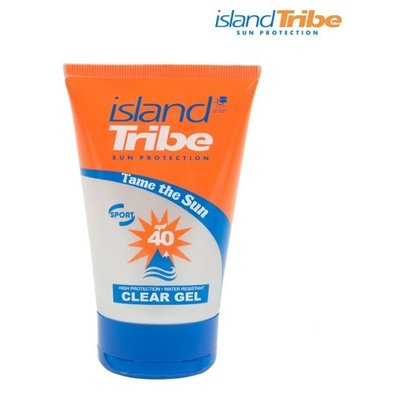 Island Tribe SPF40 Clear Gel 50ml