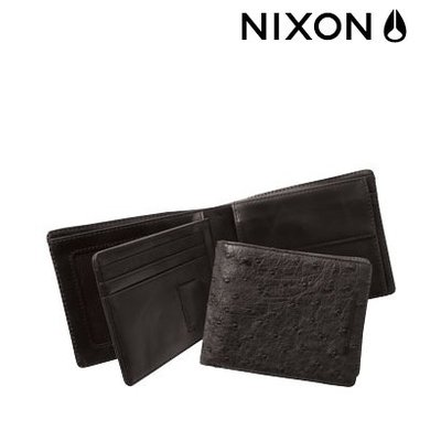 NIXON  Tripoli Big Bill Ostrich black