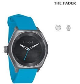 Nixon NIXON The Fader Gunmetal / Sky blue