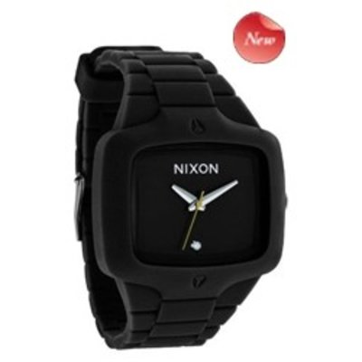 NIXON The Rubber Player All black