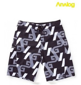 Analog Analog - Iconic boardshort True Black