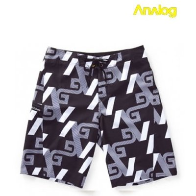 Analog - Iconic boardshort True Black