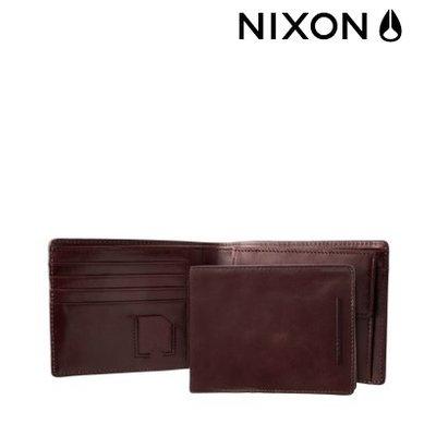 * NIXON Bastrop Bi - Fold brown