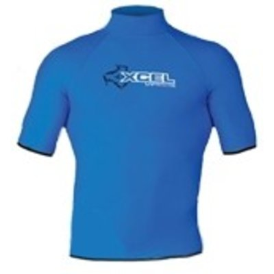 Xcel -Lycra Top -  Solid colour blue