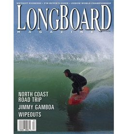 Longboard magazine Longboard magazine North Coast Road Trip volume 12 # 1