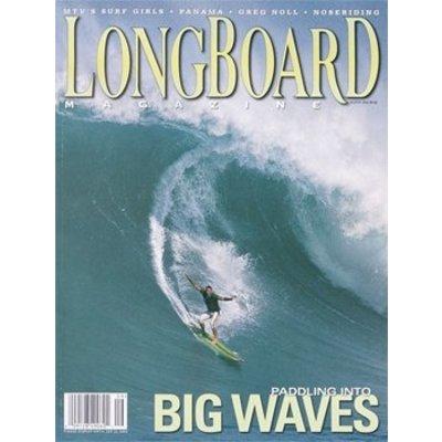Longboard magazine Big Waves  volume 11 # 4