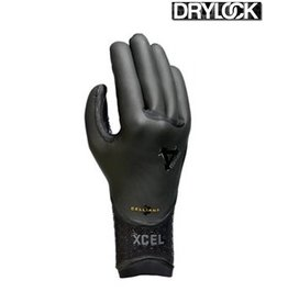 Xcel Xcel - 5-Finger Drylock Celliant Glove 5mm