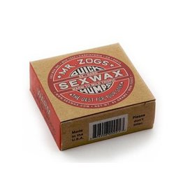 Sex Wax Sexwax - Quick Humps Red label 5x warm tot mid tropic- 4pcs