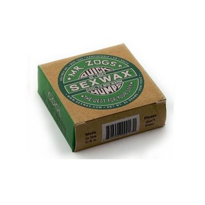 Sexwax - Quick Humps Green label 3x cool to mid warm - 4 pcs