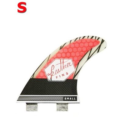 Feather fins - Superlight Carbon roja FCS small