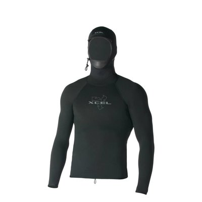 Xcel - Polypro Hooded L/S top