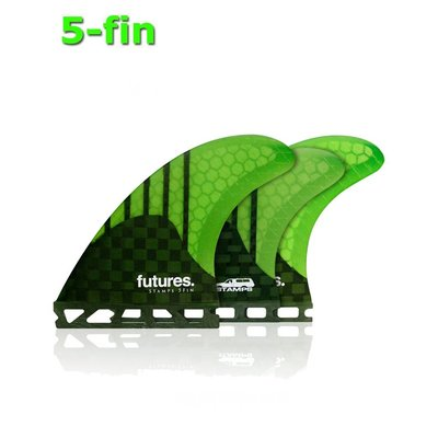 Future Fins- Gen series Stamps 5-fin