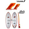 Future Fins Future Fins- Lost Slingshot Quad