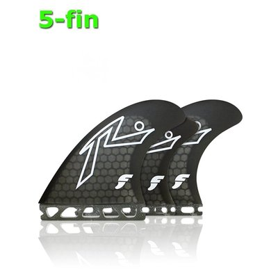 Future Fin - Rusty 5 fin set black