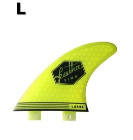 Feather Fins Feather fins - Ultralight Large Dual Tab Lime
