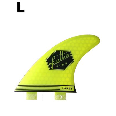 Feather fins - Ultralight Large Dual Tab Lime