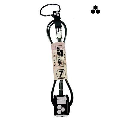 CI - 7' Hex Standard Leash - silver cuff