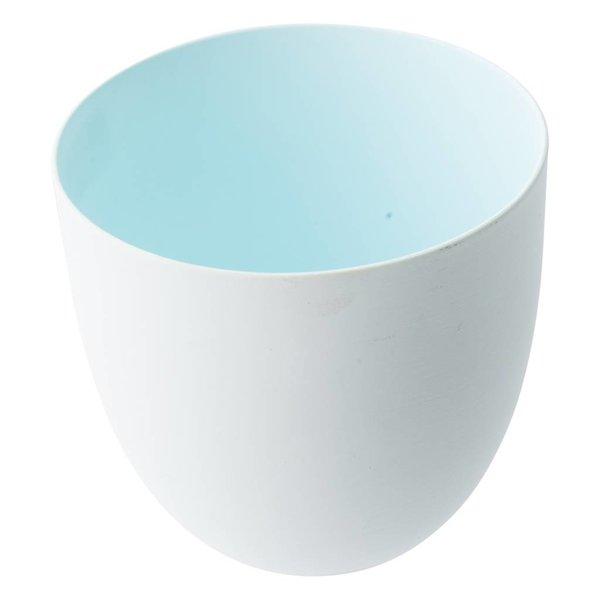 Teelichter innen Farbig Hellblau - 2 Stück