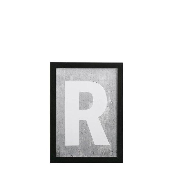 Bilderrahmen schwarz R - 21x30 cm