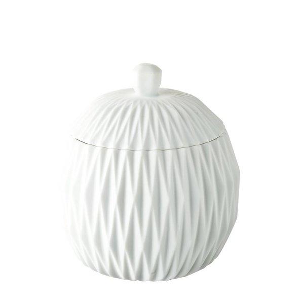 Dose/Behälter in weiß mit Deckel